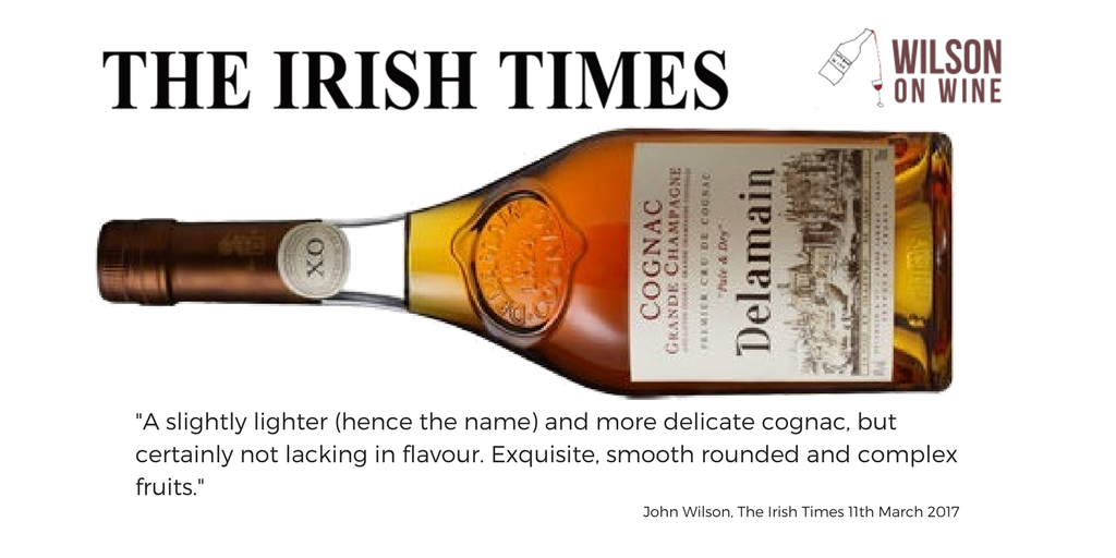 Irish Times Delamain Cognac