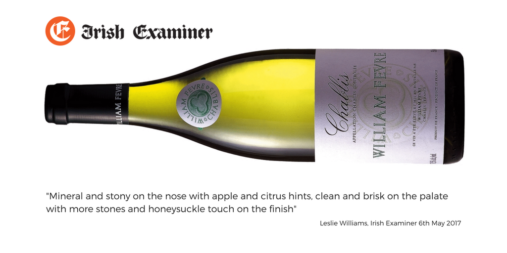 Irish Examainer Fevre Chablis