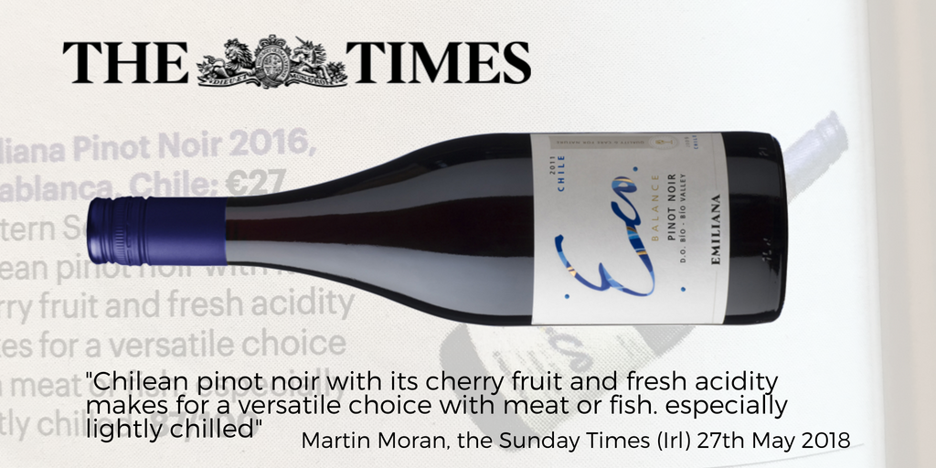 Eco Pinot Noir Sunday Times