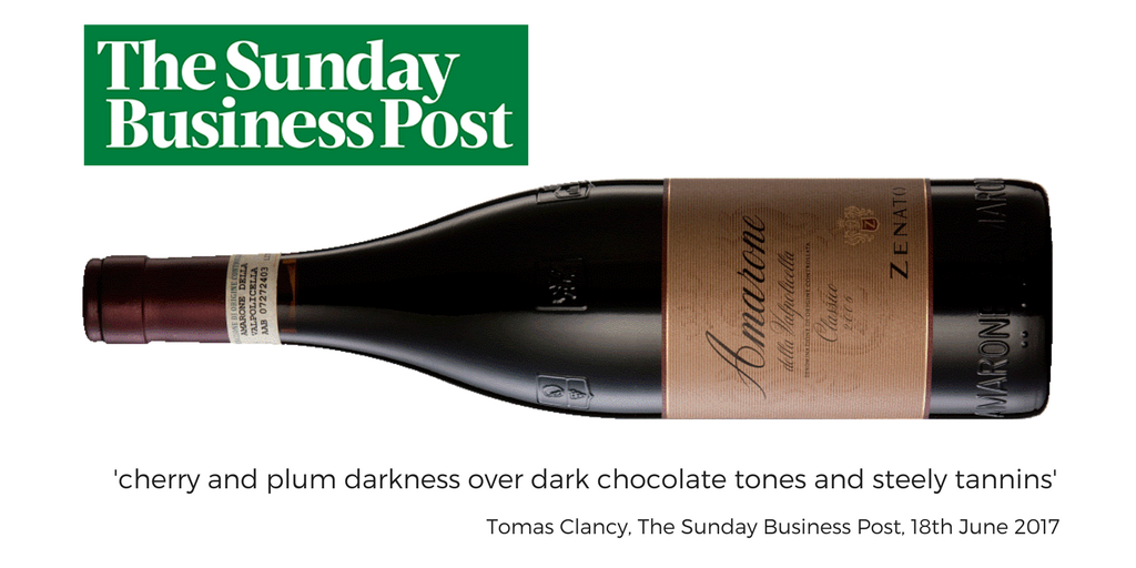 The Sunday Business Post, Zenato Amarone Classico