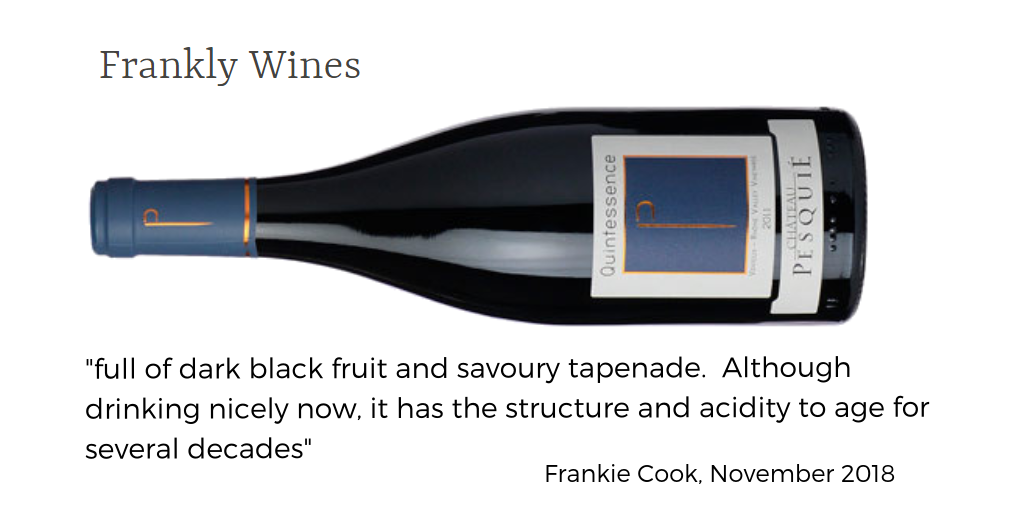 FRankly Wines Quintessence Pesqui
